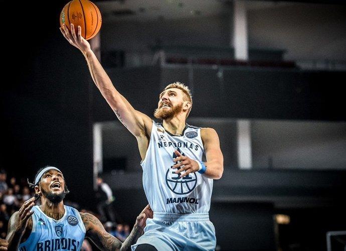 D.Gailius sužaidė itin solidų mačą (FIBA Europe nuotr.)