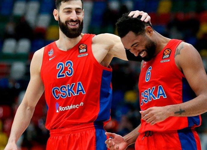 CSKA kovos prieš žalgiriečius