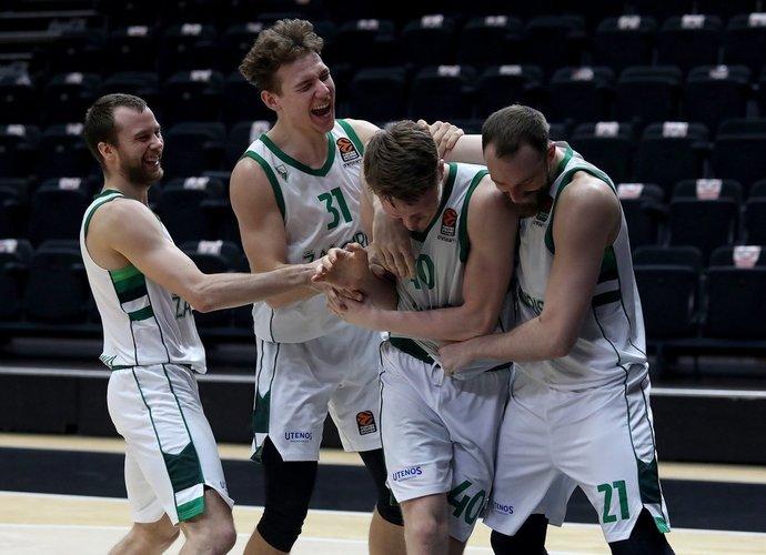 Žalgiriečiai trečiadienį pasiekė įspūdingą pergalę (Euroleague.net)