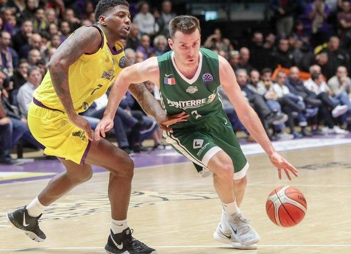 A.Juškevičiaus žaidimo laiką ribojo pražangos (FIBA Europe nuotr.)