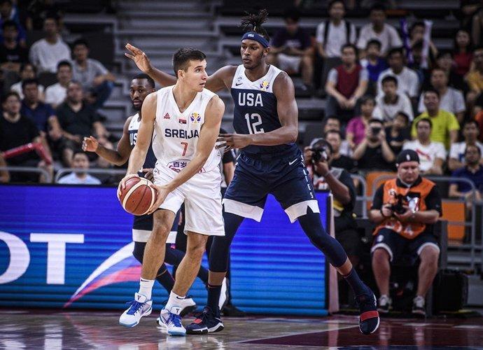 B.Bogdanovičius vedė serbus į pergalę (FIBA nuotr.)