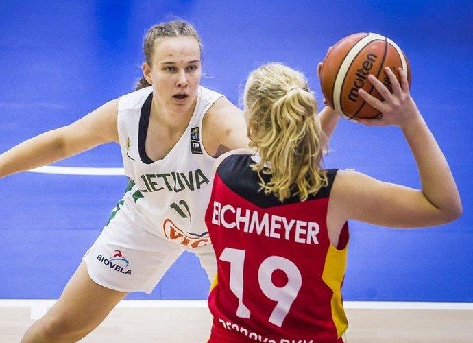 G.Šegždaitė lietuvių gretose vėl buvo geriausia (FIBA Europe nuotr.)