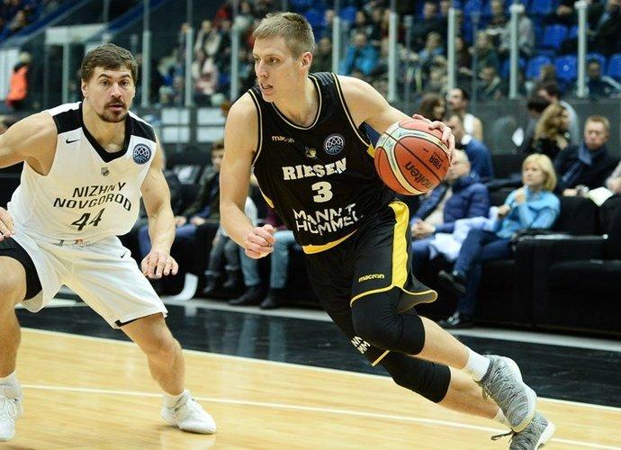 D.Sabeckiui rungtynės nesusiklostė (FIBA nuotr.)