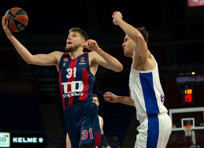R.Giedraitis svariai prisidėjo prie pergalės (Euroleague.net)