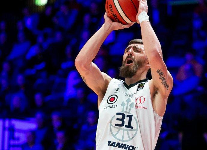 """D.Gailius kartu su """"Neptūnu"""" baigė sezoną (BNS nuotr.)"""