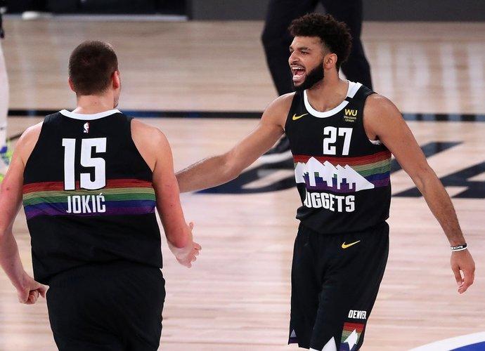 """Šie du lyderiai tempė į priekį """"Nuggets"""" (Scanpix nuotr.)"""