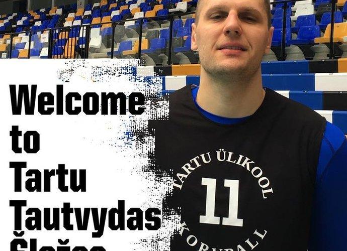 T.Šležas atvyko į Estiją