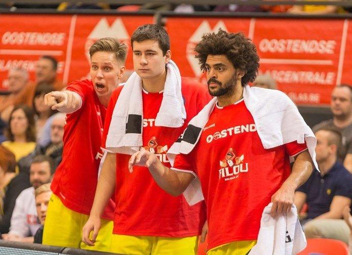 """""""Filou"""" tapo šio sezono Belgijos čempione (FIBA Europe nuotr.)"""