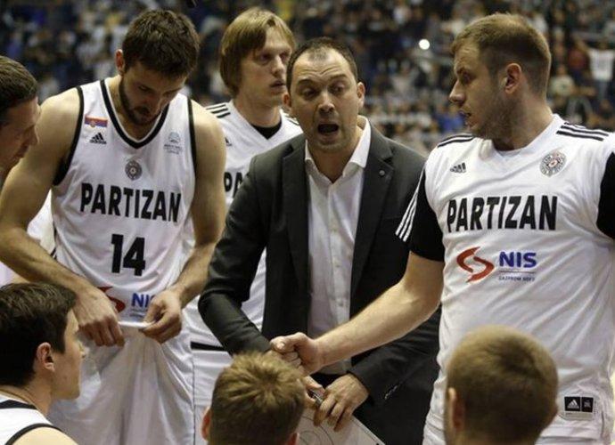 """""""Partizan"""" ekipai atėjo sunkūs laikai (""""Facebook"""" nuotr.)"""