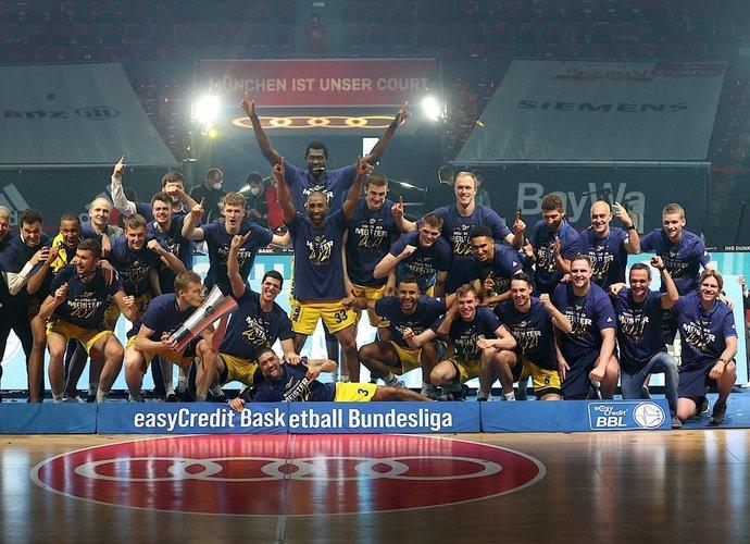 ALBA dešimtą kartą triumfavo Vokietijoje (Scanpix nuotr.)