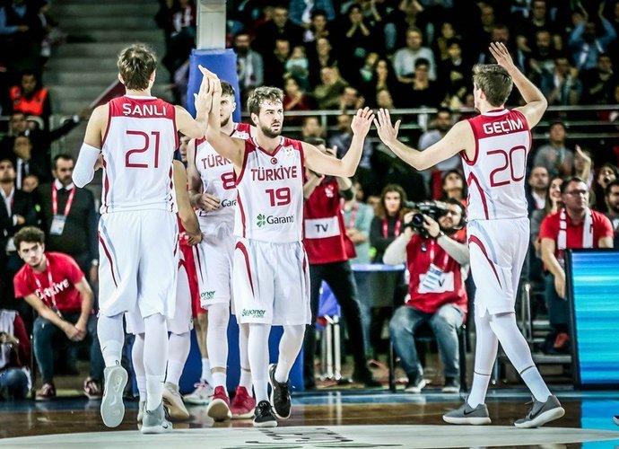 Turkija pasiekė puikią pergalę (FIBA Europe nuotr.)