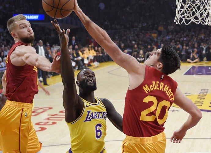 L.Stephensonas gali išvykti į NBA (Scanpix nuotr.)