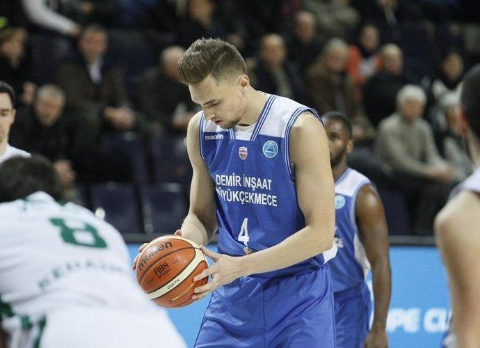 E.Kairys sužaidė eilines rungtynes Turkijoje (FIBA Europe nuotr.)