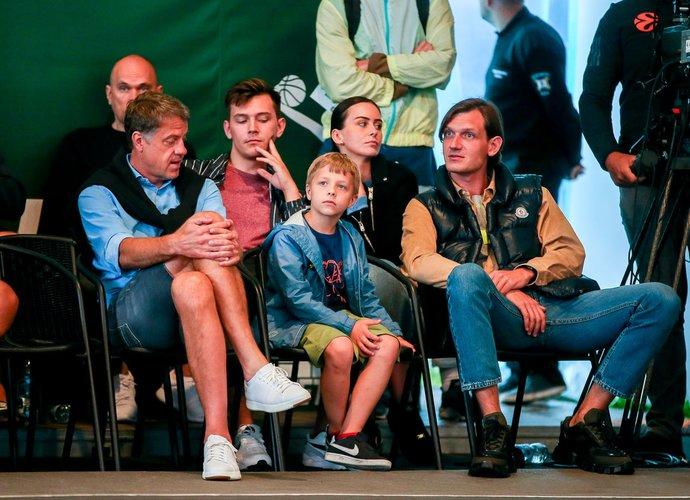 R.Skaisgirys džiaugėsi Lietuvos komandų pasirodymu (Foto: Matas Baranauskas)