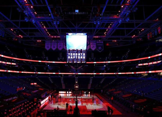 "Tampos arena tapo ""Raptors"" namais (Scanpix nuotr.)"