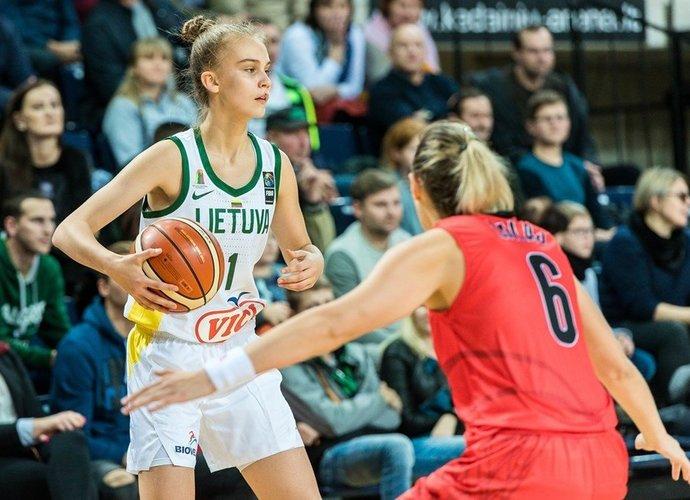 Lietuvės iškovojo įspūdingą pergalę (FIBA Europe nuotr.)