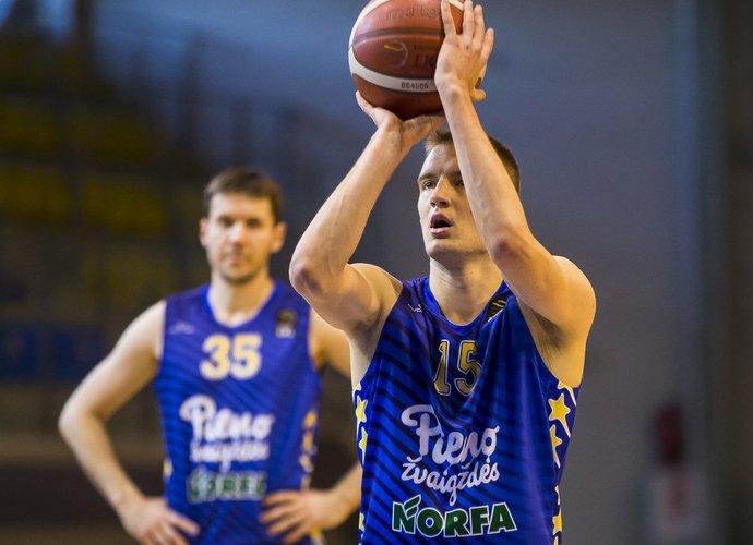 K.Giedraitis žaidė karjeros rungtynes (BNS nuotr.)