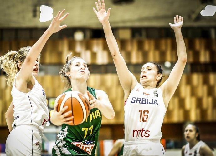 J.Miknaitė vedė komandą į pergalę (FIBA Europe nuotr.)