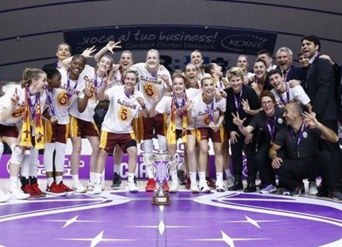 """""""Galatasaray"""" su G.Petronyte triumfuoja Europos taurėje (FIBA Europe nuotr.)"""