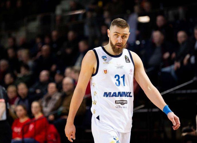 D.Gailius bus brangiausias žaidėjas Klaipėdos ekipoje (BNS nuotr.)