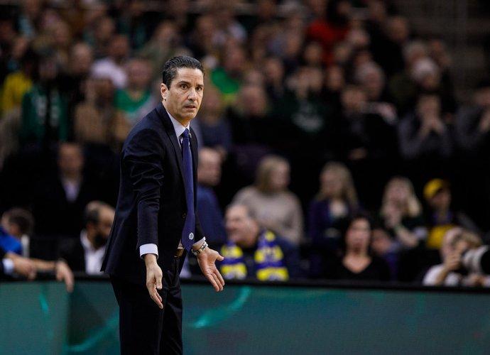 I.Sfairopoulos vadinamas geriausiu treneriu (BNS nuotr.)