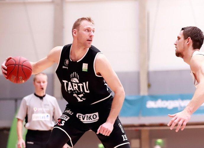 A.Drungilas žibėjo Estijos klube