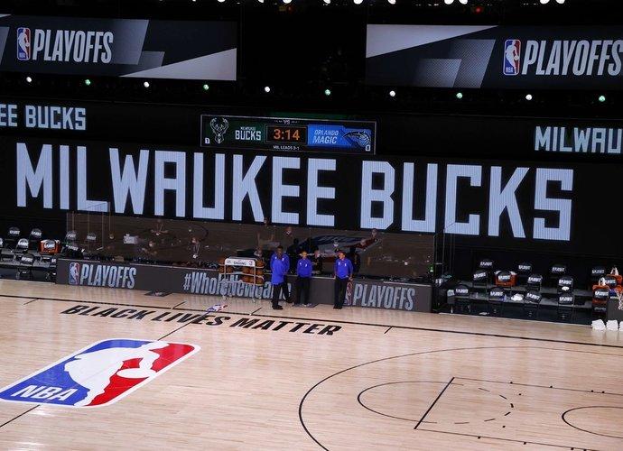NBA susidūrė su nestandartine situacija (Scanpix nuotr.)