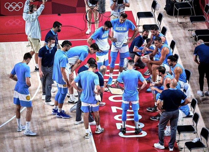 Ar Argentina praslys į kitą etapą? (FIBA nuotr.)