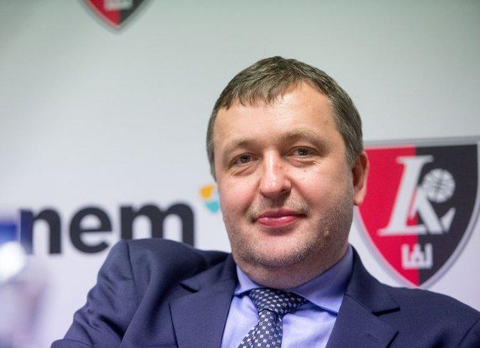 A.Guoga yra suteikęs 850 tūkst. eurų paskolą komandai (Fotodiena.lt)