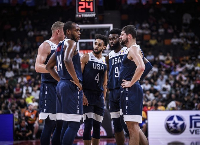 JAV rinktinė turėtų žaisti draugiškus mačus (FIBA nuotr.)
