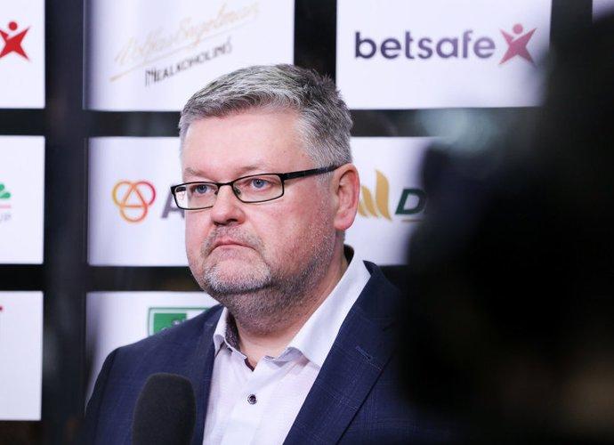 V.Čeponis apžvelgė komandų situaciją prieš esmines sezono kovas (BNS nuotr.)