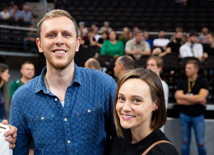 """T.Balčėtis po NBA sezono spėjo apsilankyti ir """"Žalgirio"""" rungtynėse (BNS nuotr.)"""