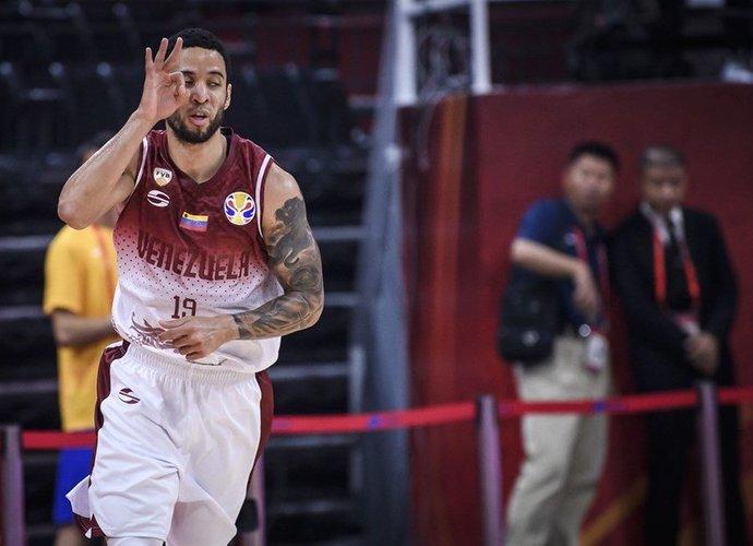 H.Guillentas yra Venesuelos vedlys (FIBA nuotr.)