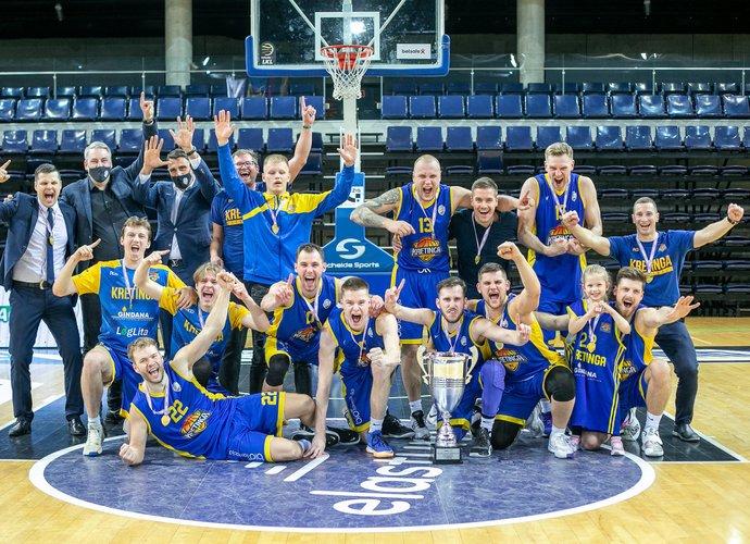 Kretingos ekipa iškovojo teisę varžytis NKL (RKL nuotr.)