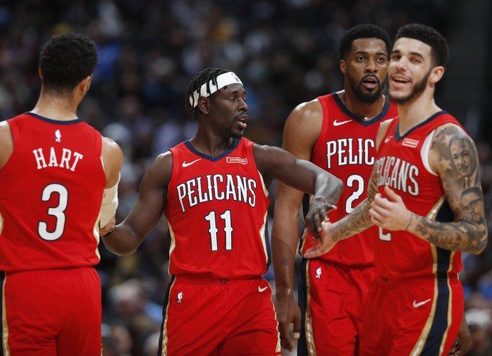 """""""Pelicans"""" pademonstravo drausmingą žaidimą (Scanpix nuotr.)"""