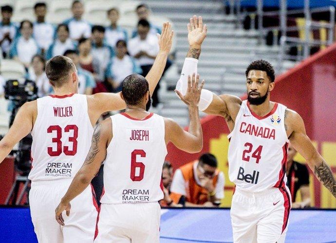 Kanada laimėjo įspūdingu skirtumu (FIBA nuotr.)