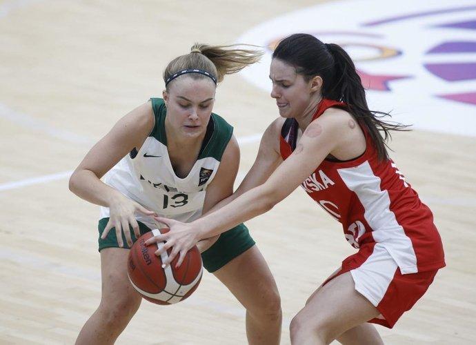 Lietuvos merginos nusileido kroatėms (FIBA nuotr.)