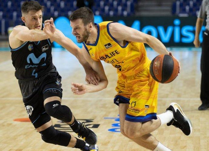 T.Dimša sužaidė geriausią mačą Europos taurėje