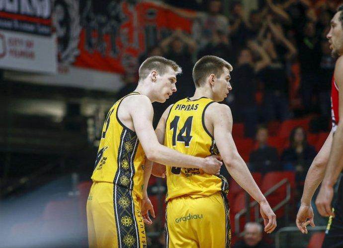 Šiaulių komanda šį sezoną buvo priversta remtis jaunais žaidėjais (Fotodiena.lt)