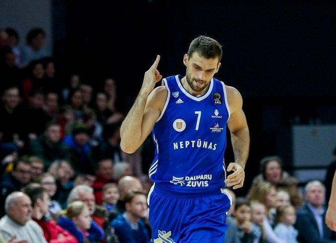 L.Kisieliui priklauso pelnytų taškų rekordas (Matas Baranauskas, Fotodiena.lt)