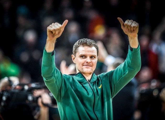 Lietuva turėtų būti pirmajame krepšelyje (FIBA Europe nuotr.)