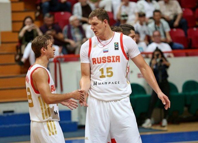 T.Mozgovas pelnė 15 taškų