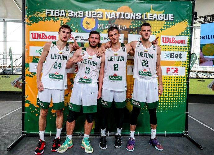 Vaikinų rinktinė finale palaužė rumunus (3x3 krepšinio asociacijos nuotr.)