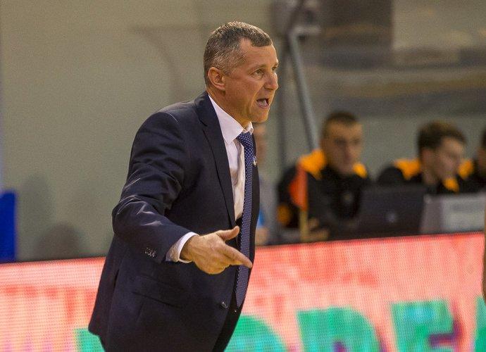 T.Rinkevičius kalbėjo apie dvikovą su PAOK (BNS nuotr.)
