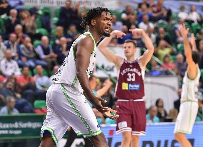 """D.Pierre'as buvo susitikęs ir su """"Lietkabeliu"""" (FIBA nuotr.)"""