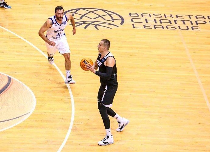 R.Stumbris sumovė itin svarbią ataką (FIBA Europe nuotr.)