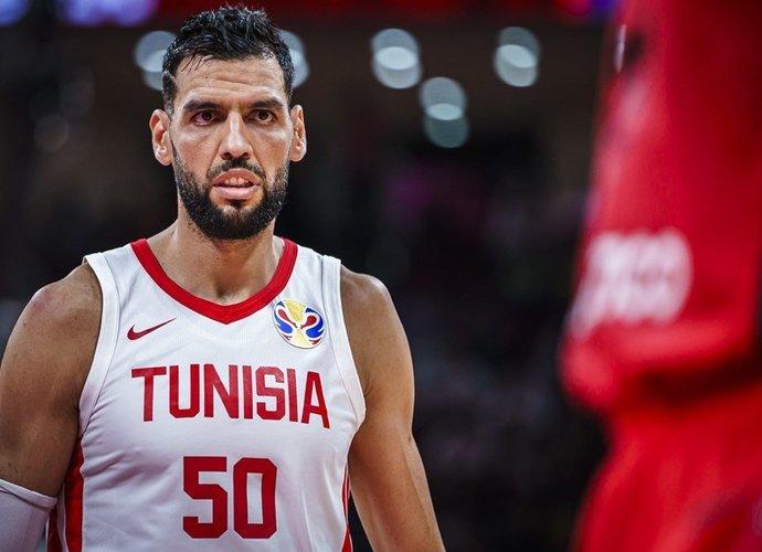 S.Mejri Kaune aikštelėje nepasirodys (FIBA nuotr.)