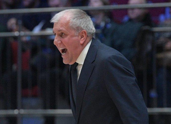 Ž.Obradovičius grįžo į krepšinį (Scanpix nuotr.)
