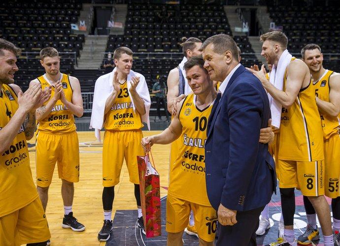 A.Sireika ekipai vadovaus ir kitame sezone (BNS nuotr.)