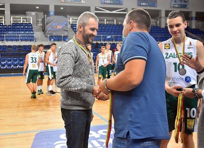 """R.Bardauskas tęs darbą """"Atlete"""" (Organizatorių nuotr.)"""